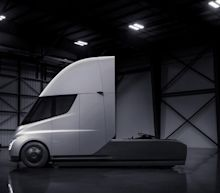 Elon Musk says Tesla Semi is ready for production, but limited by battery cell output