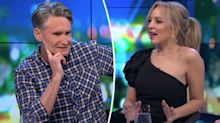 Carrie Bickmore takes a swipe at Dave Hughes on The Project