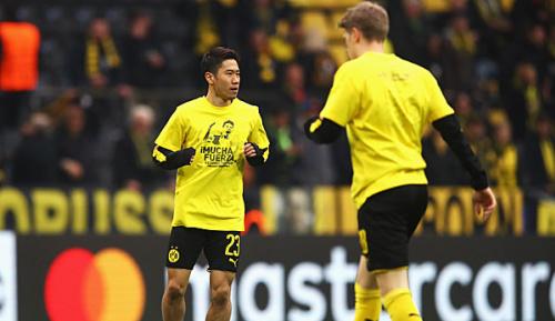Champions League: BVB-Spieler unterstützen verletzten Bartra mit T-Shirt-Aktion