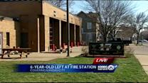 Boy dropped off at KC fire station by overwhelmed relative