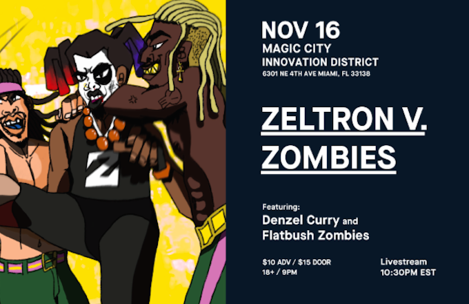 Livestream Zeltron V Zombies The Wrestling Inspired Rap Battle F Denzel Curry And Flatbush Zombies Zeltron species biology, society, and history. yahoo finance