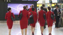 Virgin Atlantic ditches mandatory make-up rule for female cabin crew