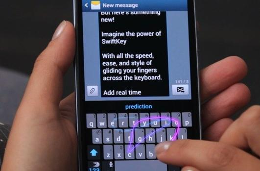 SwiftKey Flow keyboard takes the fight to Swype with predictive gestures (video)