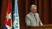 El presidente cubano Díaz-Canel felicita a Daniel Ortega por su cumpleaños 73