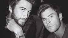 This photo proves two Hemsworths are always better than one