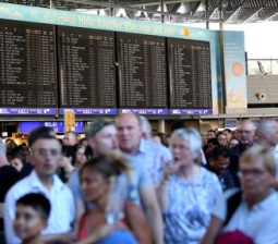 Flights canceled, delayed after Frankfurt airport security breach