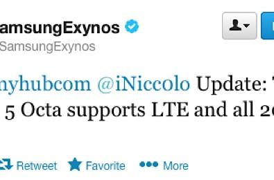 Samsung Exynos Octa now rocking LTE, destined for Korean market