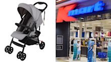 Urgent Target and Kmart baby stroller recall