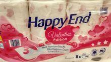Penny: Toilettenpapier zum Valentinstag