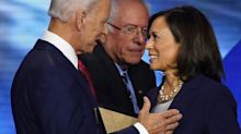 Kamala Harris is reportedly losing favorite status in the tumultuous Biden veepstakes. Here's why.