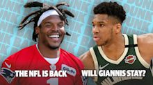 Will Giannis Stay In Milwaukee? The NFL Returns | Dunk Bait