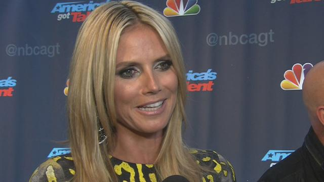 Heidi Klum Reacts To Her Emmy Awards Nomination