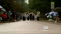 Chicago Suburbs Mark Memorial Day Despite Rain