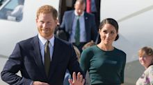 Meghan Markle y el príncipe Harry llegan a Dublín