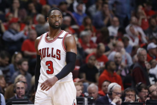 Dwyane Wade has a player option for next season worth $23.8 million. (AP)