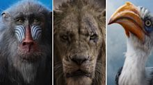 'The Lion King' debuts eight new character posters