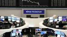 Stocks waver, dollar recovers on renewed growth worries