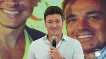 Rodrigo Faro comete gafe em homenagem ao Gugu e é criticado