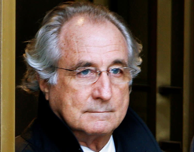 U.S. opposes releasing a dying Bernard Madoff from prison early