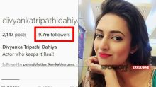 "Divyanka Tripathi Not Content With 9.7 M Followers: ""Wants To See The Double Digit Soon"""