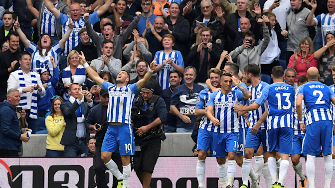 Brighton rock as Hemed secures Albion second home win and Newcastle struggle