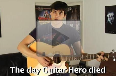 The Warp Zone laments 'The Day Guitar Hero Died'