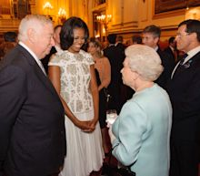 Michelle Obama Explains That She Hugged the Queen For This Very Relatable Reason