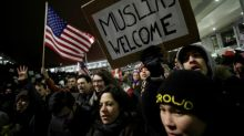 Tech companies, former secretaries of state slam Trump travel ban