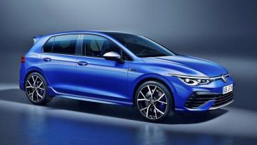 全新2021年式VW Golf R正式發表,最大馬力飆到320匹
