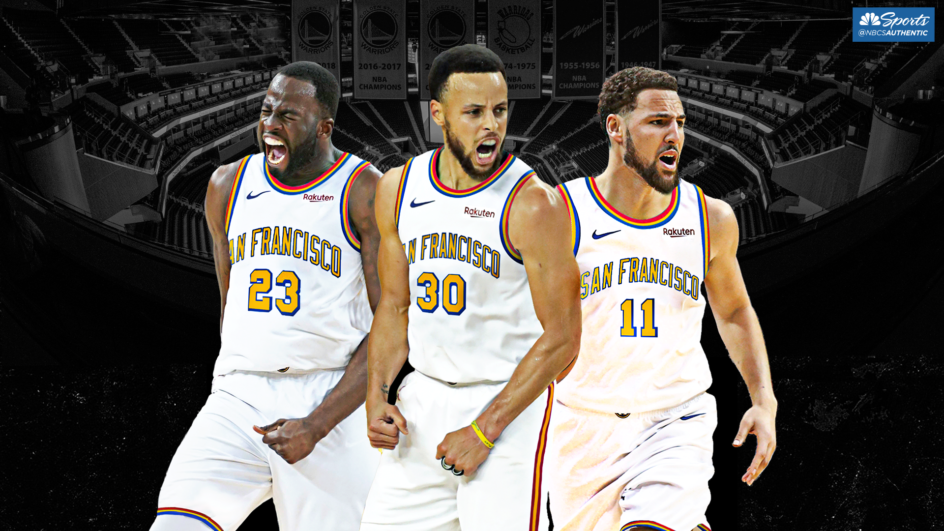promo code 6702e 4bf98 Warriors reveal six jersey designs ahead of first Chase ...