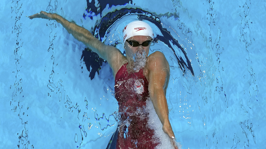 Canada wins another medal in the pool