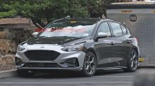 2020 Ford Focus ST spied totally uncovered