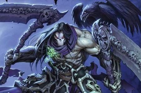 Darksiders 2 darkens the cover of July's Game Informer