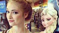 Florida teen is 'Frozen's' Elsa look-alike