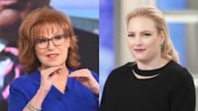 Joy Behar tells Meghan McCain she 'did not miss' her on 'The View' while she took maternity leave