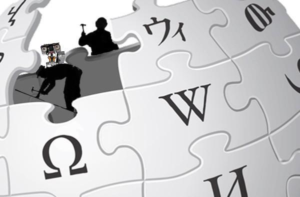 Bots edit Wikipedia, clean up your nonsense