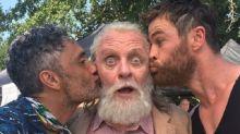 Thor: Ragnarok director shares eye-catching photo of Anthony Hopkins
