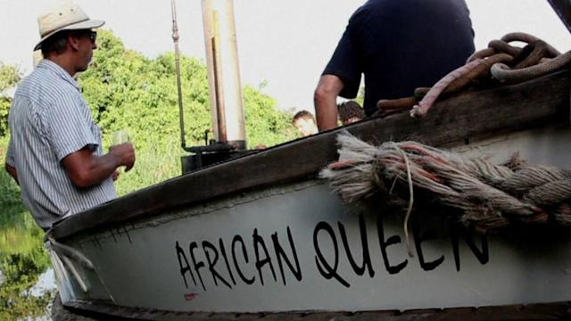 ALL ABOARD THE AFRICAN QUEEN