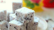 【甜品食譜】鵝羅立英似的~紅豆雪花糕