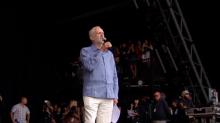 Jeremy Corbyn at Glastonbury: Labour leader gives rousing speech before Run The Jewels set