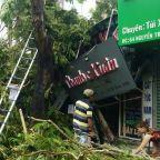 One dead, dozens injured as tropical storm Noul hits Vietnam