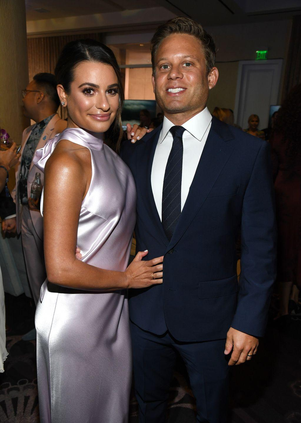 Lea Michele Is Expecting Her First Child With Husband, Zandy Reich