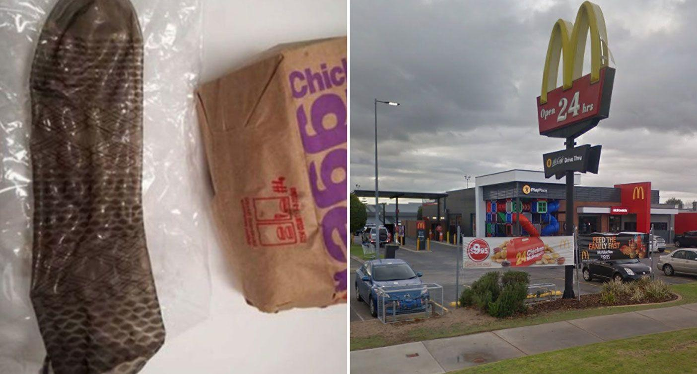 Family's anxious wait after girl, 2, 'puts condom found at McDonald's in mouth'