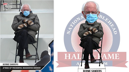 Bernie inauguration meme hits hilarious new peak