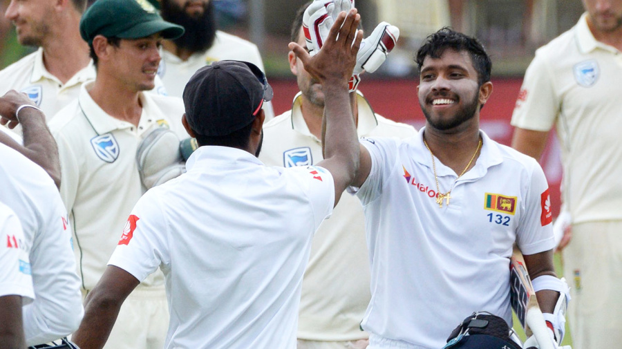 Sri Lanka re-write cricket history with incredible Test first