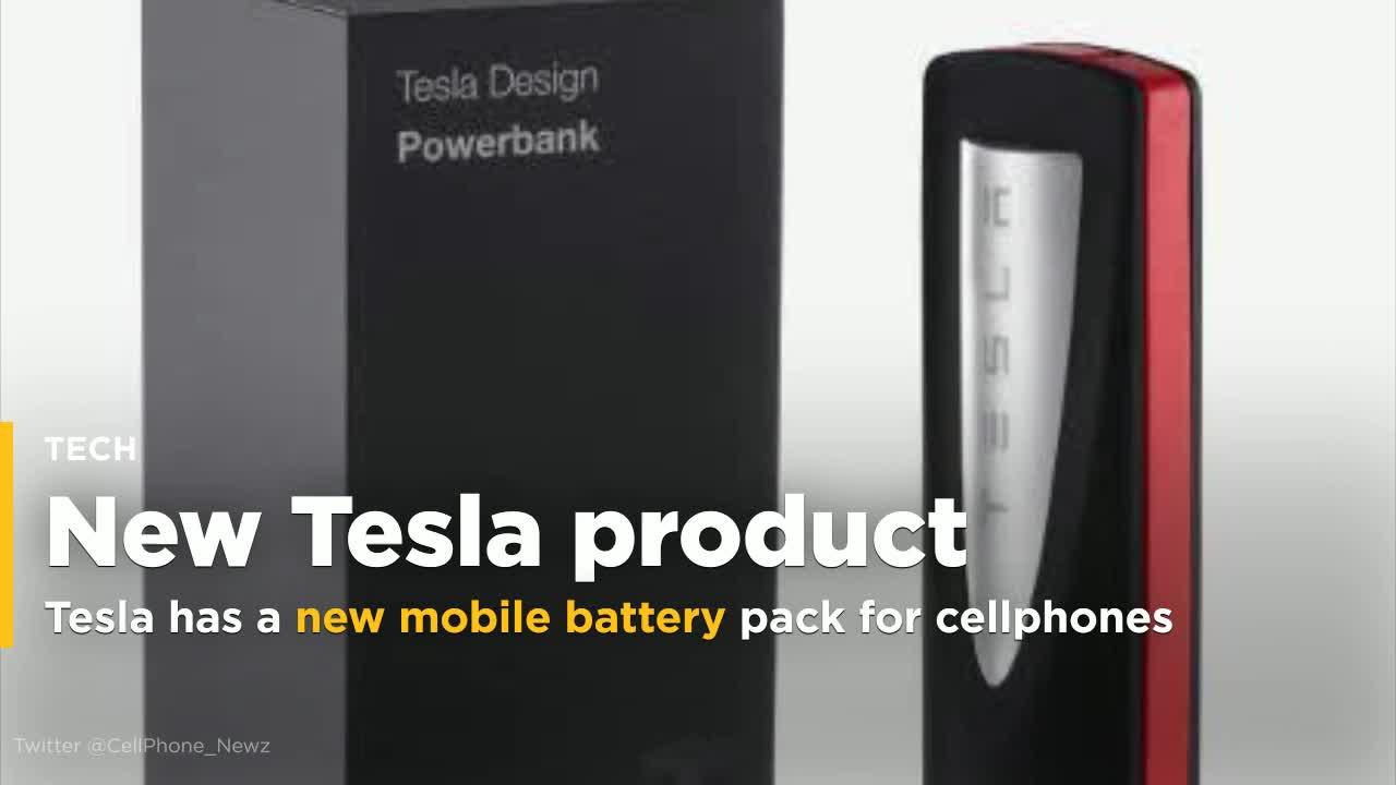 Tesla S Newest Product Is A Mobile Battery Pack To Charge Your Phone Video
