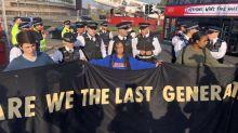 Extinction Rebellion: police warn Heathrow protesters of 'life sentences'