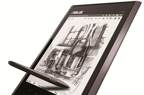 ASUS Eee Tablet: a notepad with impressive 2450 dpi touchscreen sensitivity (updated)