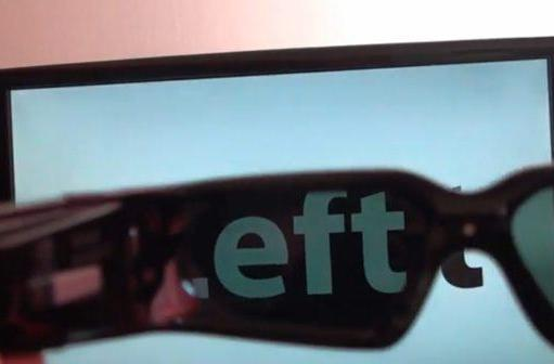 3D Vision hack uses active shutter glasses to display 3D content in 2D (video)