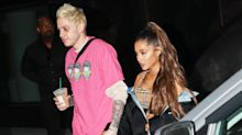 Ariana Grande & Pete Davidson Step Out Hand-in-Hand Days After Pop Star Got Emotional During Walk